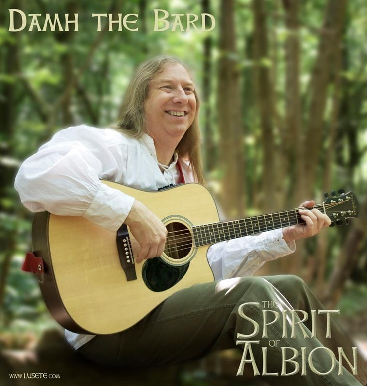 The promo pic of Damh from the Spirit of Albion Movie. Wonderful music and a superb film! :)