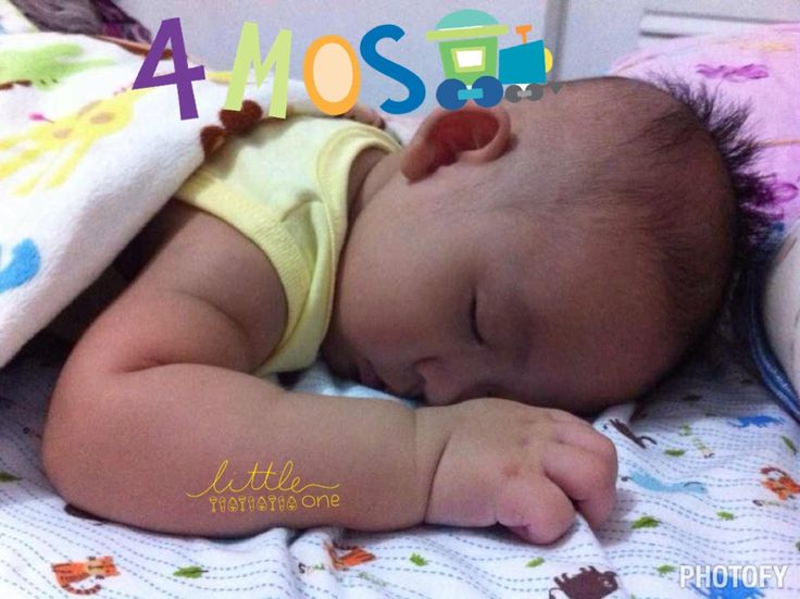 Happy 4mos baby Lee