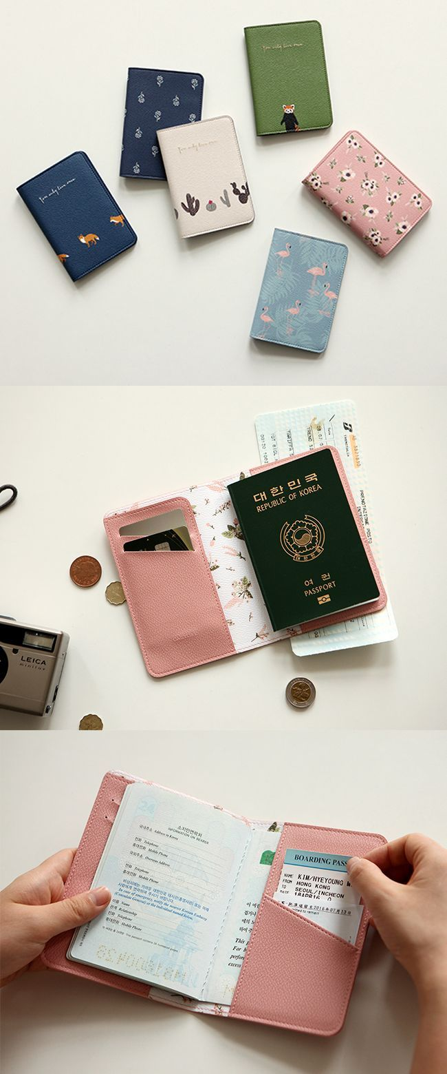 Traveling in style is a must. And it doesn't get any easier than with the Dailylike Leather Passport Case! This accessory holds and protects your passport, cards, bills, boarding passes, and more in its soft and well designed pockets and card slots!