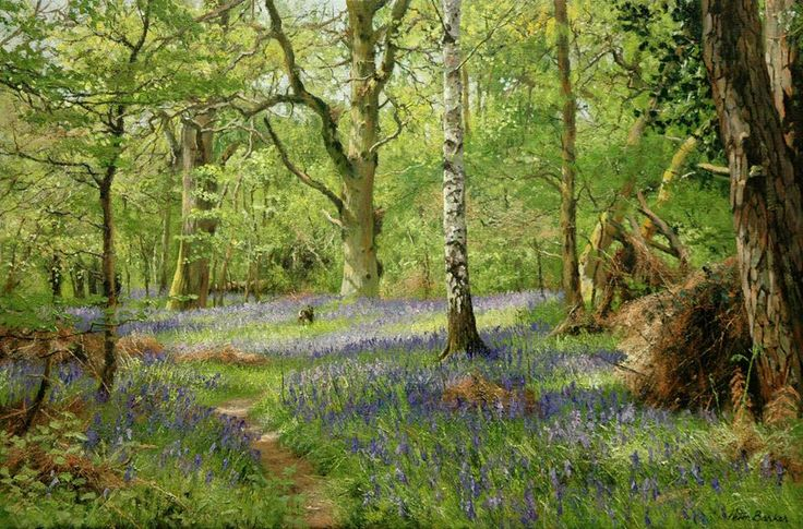 "https://www.facebook.com/MiaFeigelson ""Hare in North Leigh Woods"" (2011) [Sold] By Peter Barker, from Banbury, Oxfordrshire, England (current location, South Luffenham, England) - oil on linen canvas; 20 x 30 in - http://www.peterbarkerpaintings.co.uk/ https://www.facebook.com/PeterBarkerARSMA"