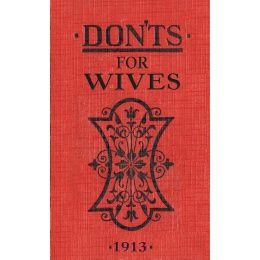 'Dont's for Wives' Book #Hen Party Gifts www.giftgenies.co...