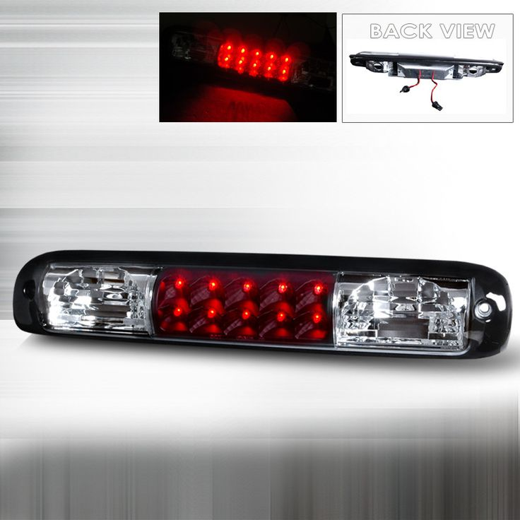 99-05 Chevy Silverado LED Black 3rd Brake Lights