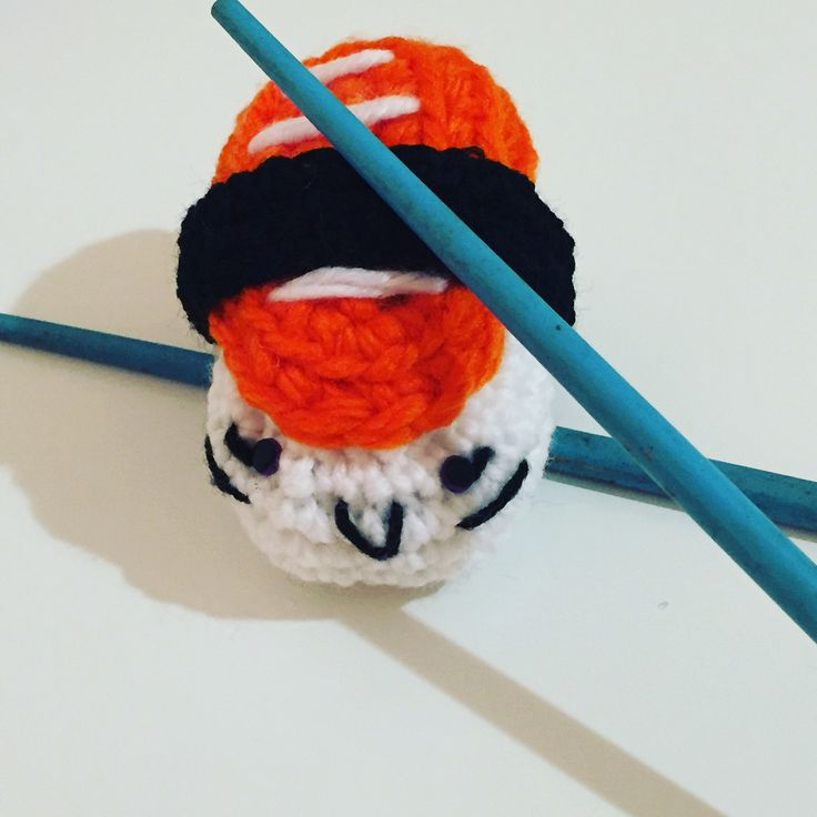 Sushi crochet