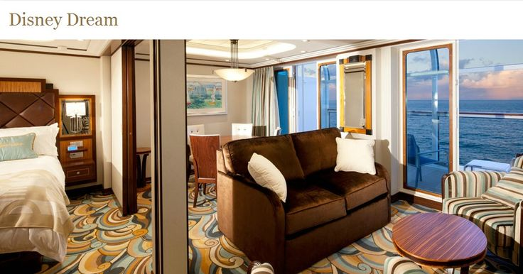 One Bedroom Suite On The Disney Dream And Disney Fantasy