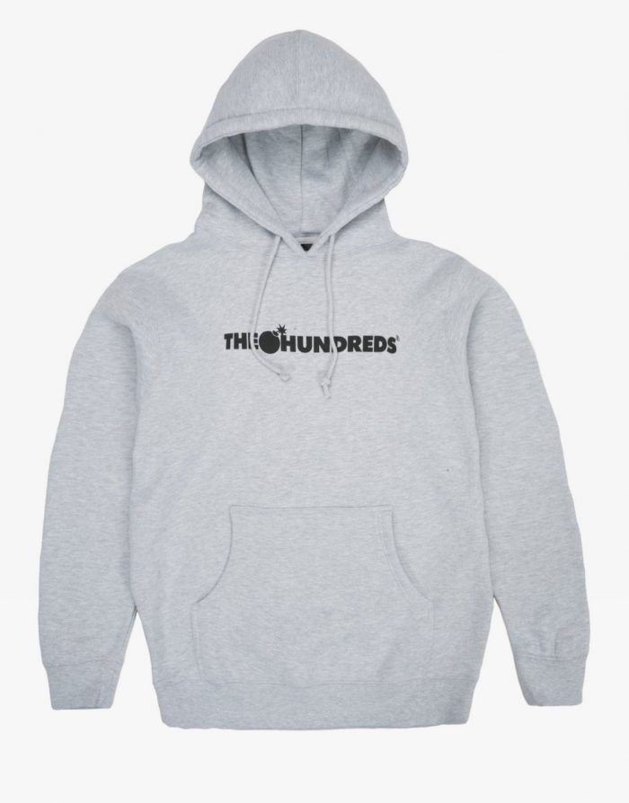 The Hundreds Forever bar hoodie grey