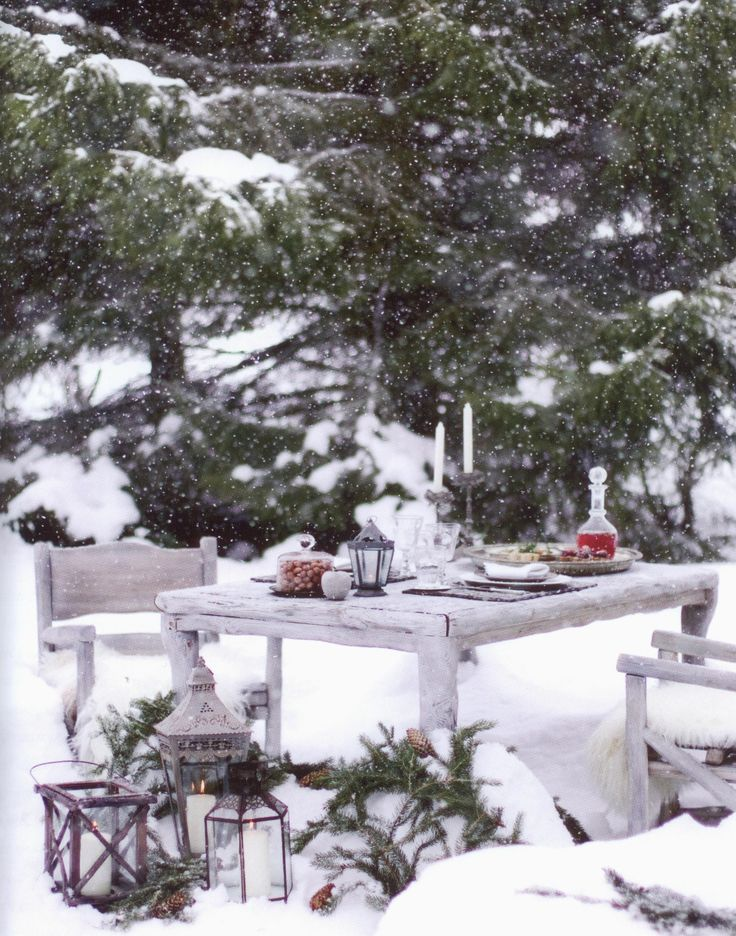 Winter Picnic - would love to do this!