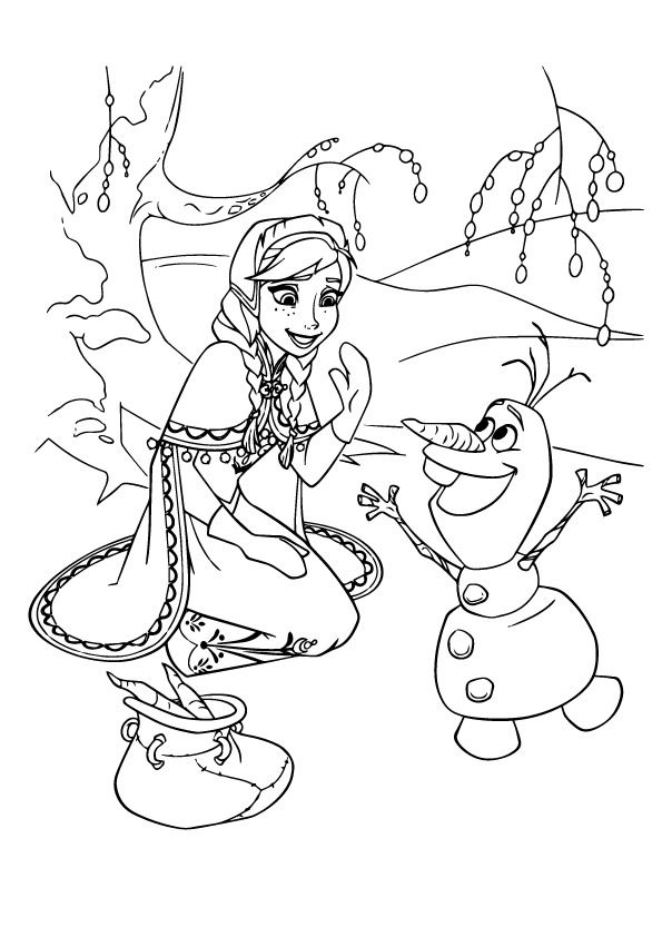 Coloring Page Frozen Coloring Pages Disney Coloring Pages