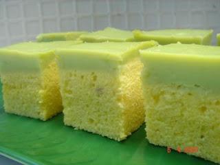 Steamed Durian Custard Cake