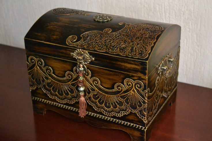 Elegant Wood Box Beth Poubel