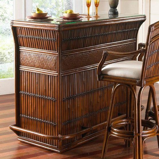 Hospitality rattan polynesian indoor rattan bamboo bar for Arredamento tiki