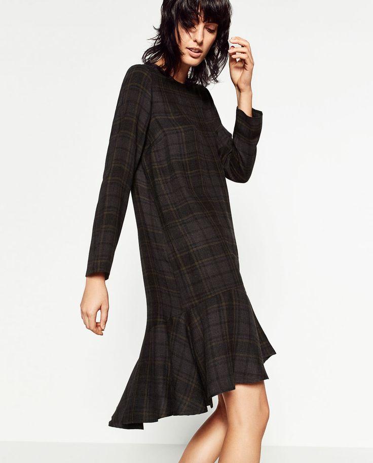 LONG SLEEVE DRESS-DRESSES-WOMAN   ZARA United States