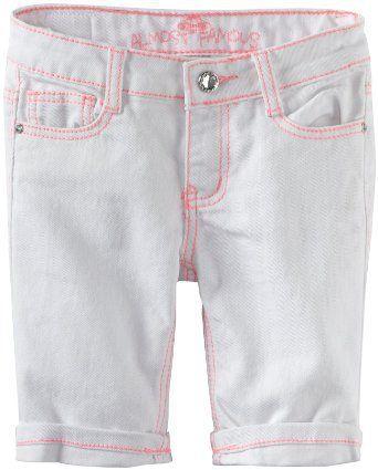 Almost Famous Girls 7-16 Cuffed Bermuda Short