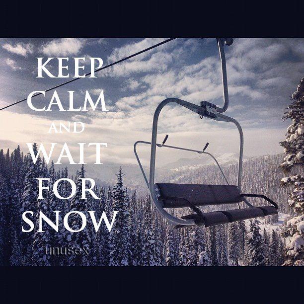 Snow... Mountain Living....