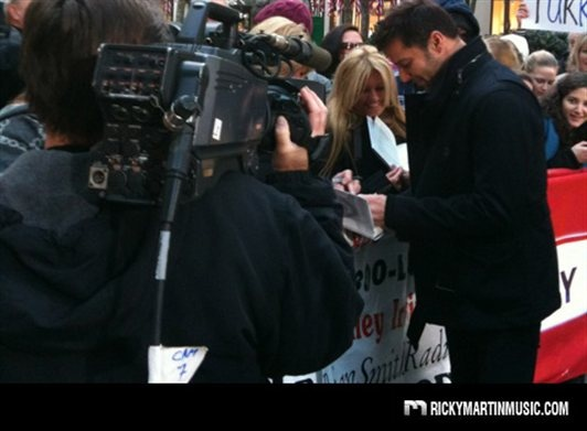 Autographs at the Today Show!