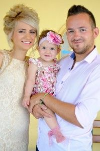 Gorgeous image of happy Christening Girl with her proud parents - Kremasti Monastery - Greek Orthodox Church - 1700 AC - Photography Con Tsioukis - ICON PHOTOGRAPHY MELBOURNE - www.iconphotos.co...