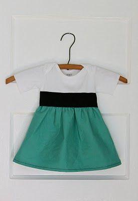 Onesie to Dress