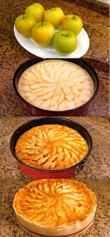 ESSA É A MELHOR TORTA DE MAÇÃ QUE EU JÁ COMI NA MINHA VIDA! #torta #maçã #tortademaçã #receita #comida #dica #culinaria