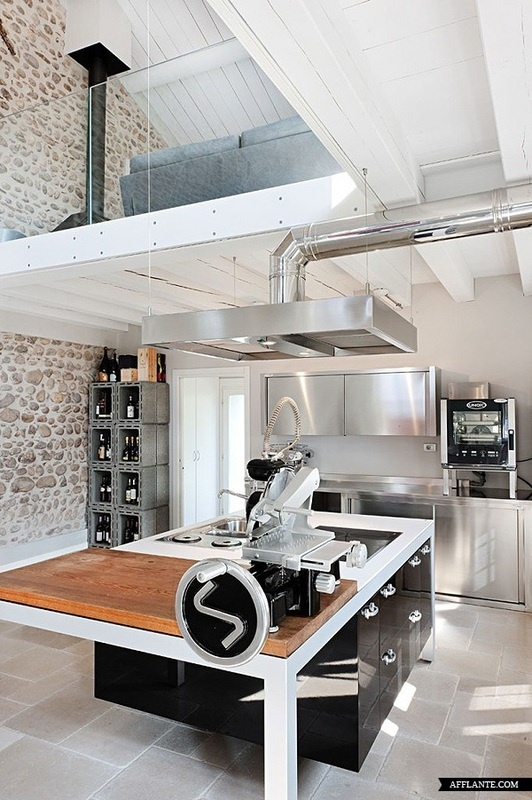 Lofty interiors lively up yours how to design a loft interior www livelyupyours industrial kitchensmodern