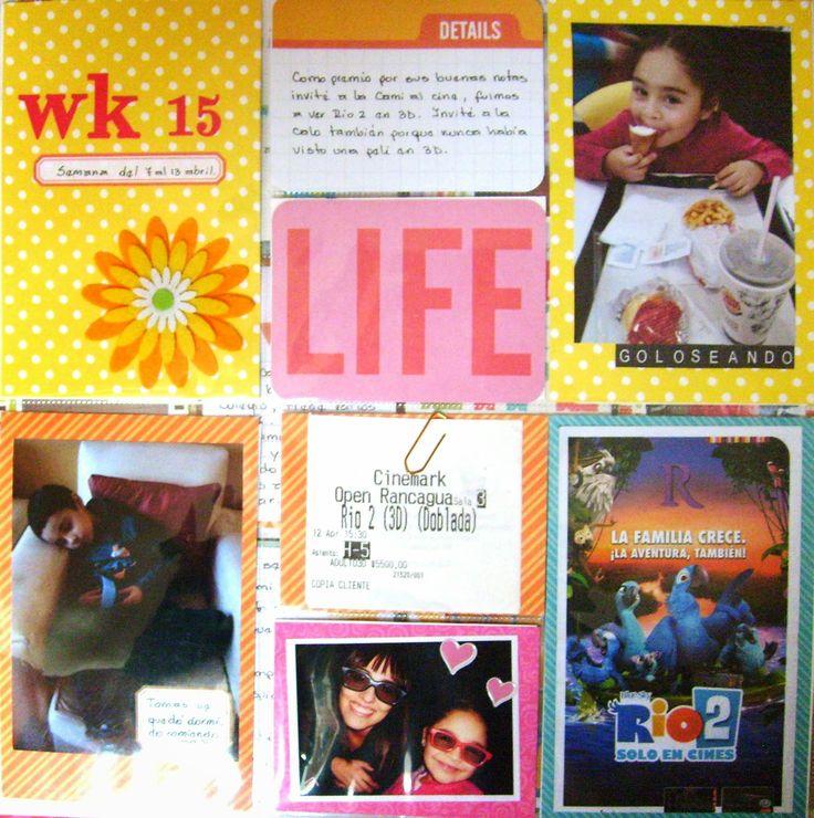Project Life 2014 semana 15