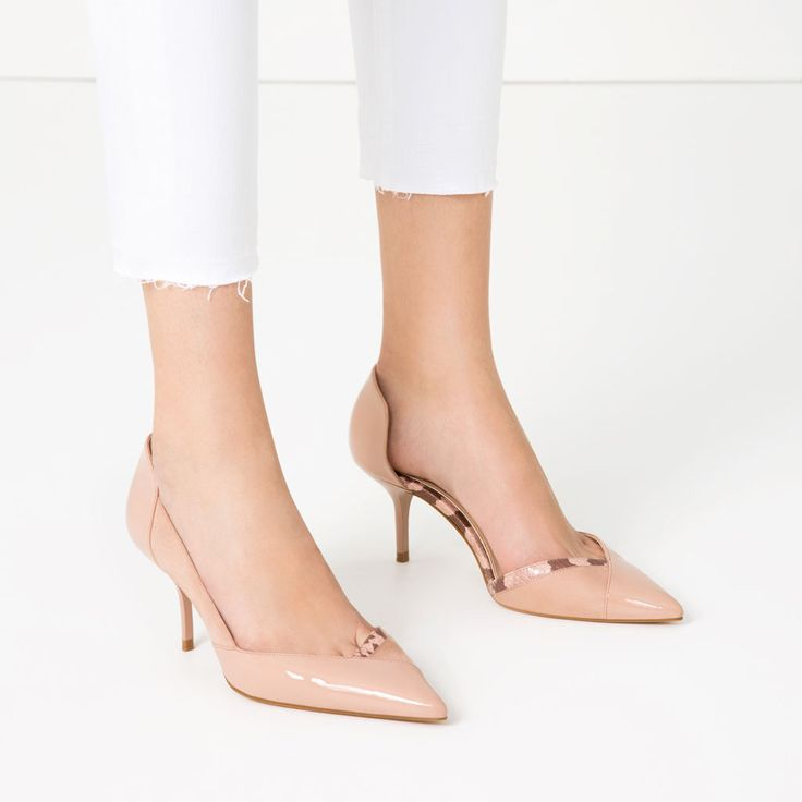 CONTRAST MID HEEL SHOES-View all-SHOES-WOMAN | ZARA United States