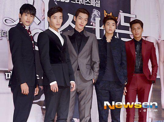 "Lee Min Ho, Kim Woo Bin, Kang Min Hyuk,Park Hyung Sik, Kang Ha Neul #Kdrama - ""HEIRS"" / ""THE INHERITORS"""