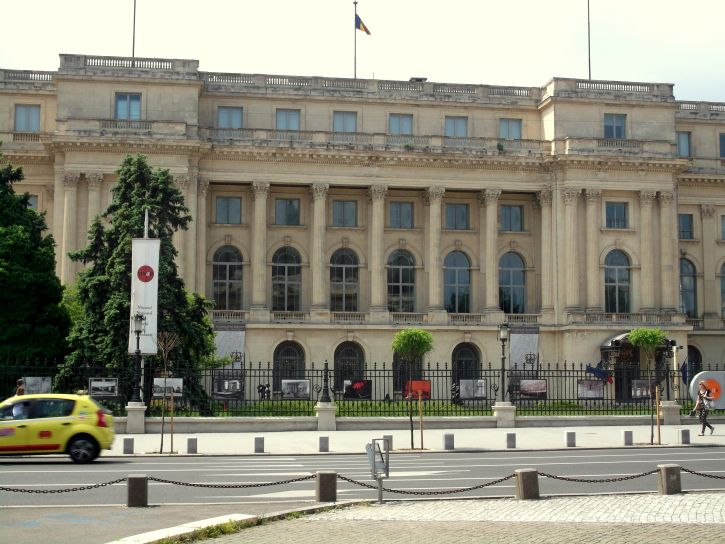 The National Museum of Arts of Romania and former royal Palace in Bucharest