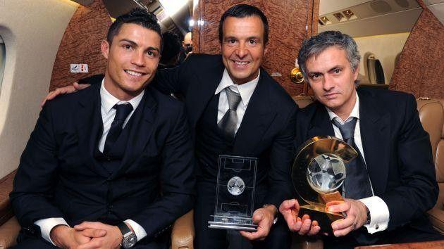 Jorge Mendes, Jose Mourinho, Cristiano Ronaldo