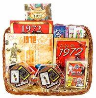 40th anniversary gift basket (similar idea for birthday??)  I <3 HEART <3 this!!