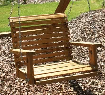 Adult-BabySitter-Swing.jpg - Pine BabySitter Swing