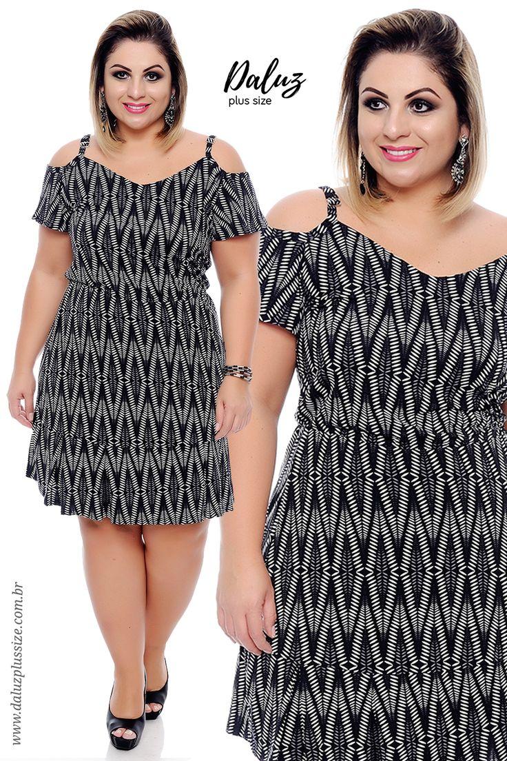 Vestido Plus Size Graciete - Coleção - Vestidos de Festa Plus Size - @daluzplussize
