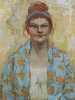 Jennifer Bell Morning in Montmartre / oil / 20 x 16 in. / $2750