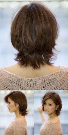 Bem na foto : +12 Cortes de cabelo médio repicado #2