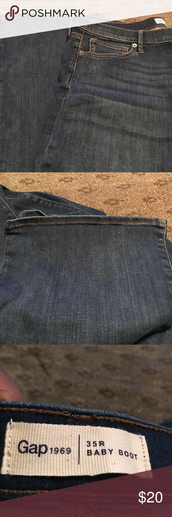 """Gap Boot Cut Denim """"1969"""" Jeans. Gap 1969 Boot Cut Denim Jeans. Jeans have never been worn and are free of rips and tears. Inseam 31 inches GAP Jeans Boot Cut"""
