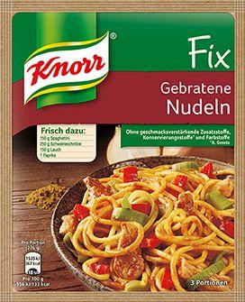 KNORR+Fix+für+gebratene+Nudeln