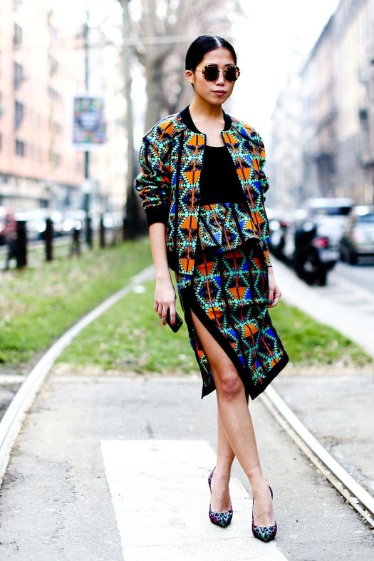Streetstyle: Неделя моды в Милане