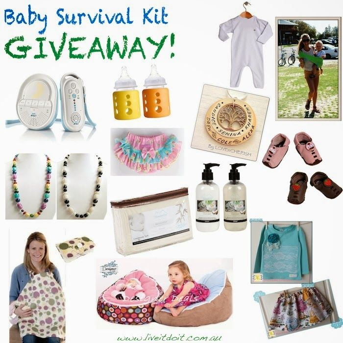 LIVE IT, DO IT!: WIN THE ULTIMATE BABY SURVIVAL KIT! (VALUED at OVER $700!)