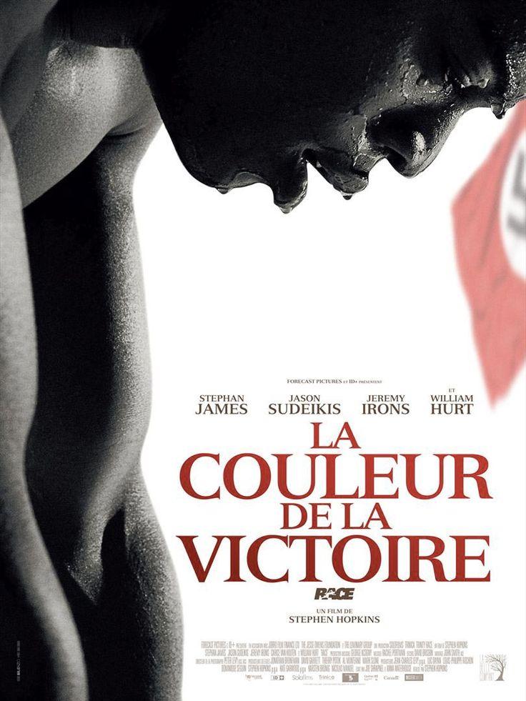 La couleur de la victoire de S. Hopkins (2016 -Août). Mouuuhais...Ce film manque sérieusement de niaque !! Je vais plutôt m'en remettre directement à une séance de JO Rio 2016 !