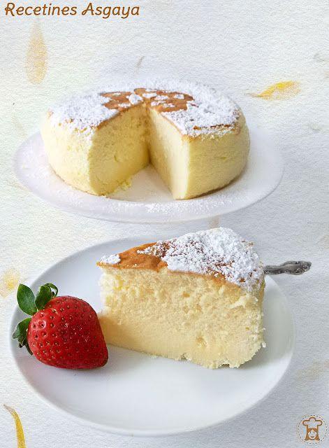 Japanese Cheesecake /  Tarta de Queso Japonesa_RECETINES ASGAYA: