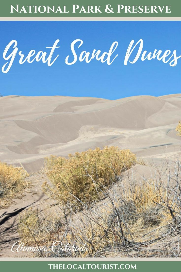 Great Sand Dunes National Park and Preserve is the quietest National Park in the United States and a perfect representation of a cyclical environment.