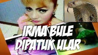Detik detik Irma Bule Penyanyi Dangdut Tewas di patuk ular