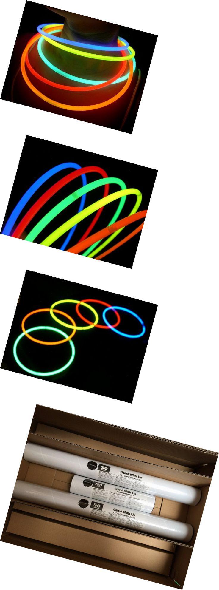 """Glow Sticks 51019: Glow Sticks Bulk Wholesale Necklaces, 100 22"""" Glow Stick Necklaces+100 Fr -> BUY IT NOW ONLY: $48.7 on eBay!"""