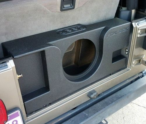 Sound Bar And Subwoofer Wiring Diagram Jeep Wrangler Tj Series 1 12 Quot Vented Tj Jeep Parts