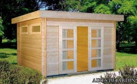 Casetas de madera, versatilidad y eficiencia de recursos
