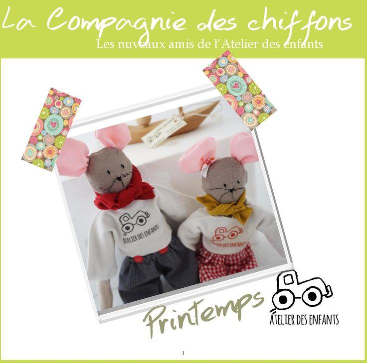 #ClippedOnIssuu from Atelier des enfants - Printemps 2016-La Compagnie des chiffons