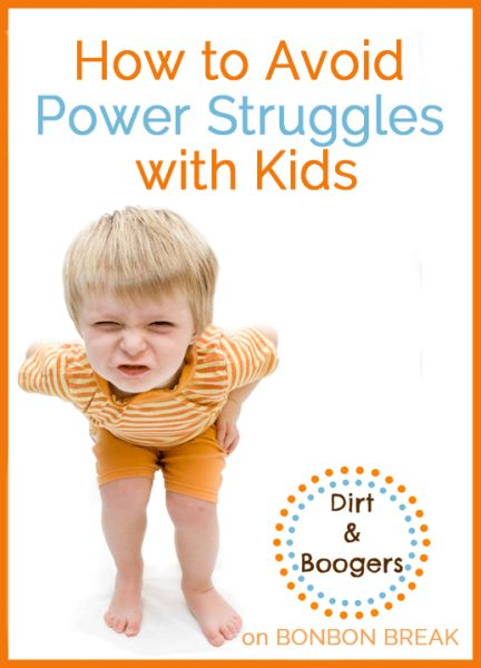 relationship power struggles with kids