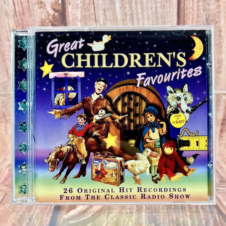 Great Children's Favourites Various Artists Kids Songs Music Cd 26 Original hits