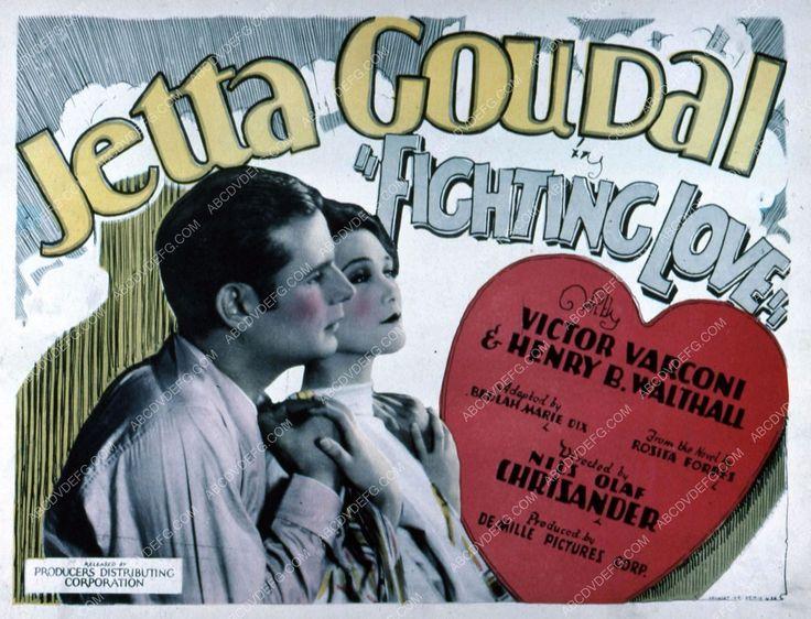 Jetta Goudal Victor Varconi silent film Fighting Love 35m-4555