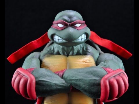 Electrified Porcupine - Toys, Collectibles, Action Figures, Music, WWE, and More!: Teenage Mutant Ninja Turtles Raphael Sixth Scale F...
