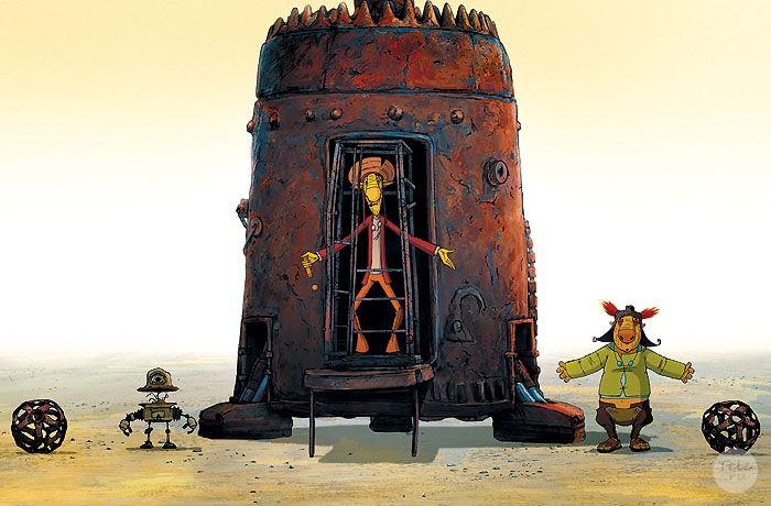 Георгий Данелия - — Нет, просто у мультфильма и кинофильма вообще много отличий. А от правителя осталось имя. Только теперь Абрадокс — робот. И озвучивает его Александр Адабашьян, один из авторов сценария мультфильма. А себе я выбрал роль заблудившегося межгалактического путешественника Ромашки.