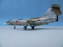 Stunning 1/48 Revell Lockheed F-104G Starfighter Holland 1978